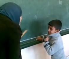 فيديو يظهر المعاملة السيئة لأبنائنا في المدارس