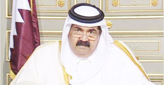 """أمير قطر :""""..... حسبي الله ونعم الوكيل """""""