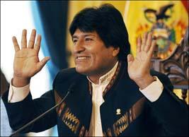 الرئيس البوليفي يضرب عن الطعام للضغط من أجل تبني القانون الانتخابي