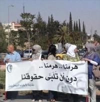 """الأطباء البيطريون يعتصمون أمام """"النواب"""" ويلوحون بالإضراب"""