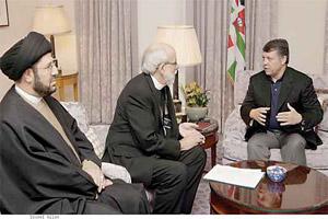 الملك يؤكد اهمية دور القيادات الدينية بدعم جهود تحقيق السلام في المنطقة
