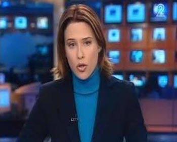 حملة صهيونية لفصل مذيعة بالقناة الثانية الإسرائيلية بكت على غزة