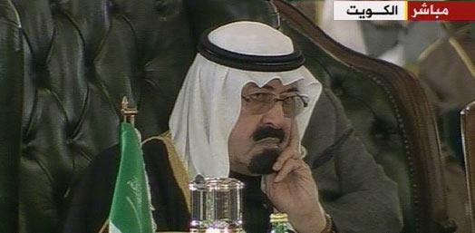 ملك السعودية : المبادرة العربية لن تبقى مطروحة..ومبارك يرفض سحبها