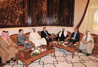 لقاء مصالحة عربية بحضور الملك