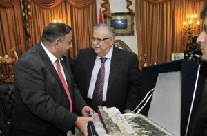 الرئيس العراقي يستقبل وفد حزب الاتحاد الوطني الاردني