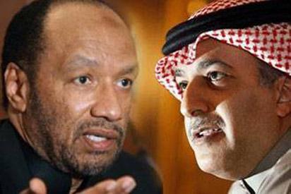"""الأردن مع من.. """" بن همام """" أم """" الشيخ سلمان بن ابراهيم آل خليفة """" ؟"""
