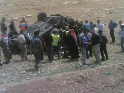 مقتل فتاة في حادث تدهور على طريق بيرين- شفا بدران