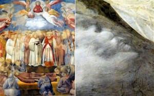 اكتشاف إبليس مخفيا في جدارية من القرون الوسطى