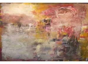 الفنان السوداني حسان علي يطل من المشربية
