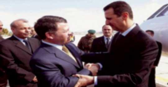 الملك في دمشق غدا للتباحث مع الرئيس الأسد في أفق تحريك مسارات السلام