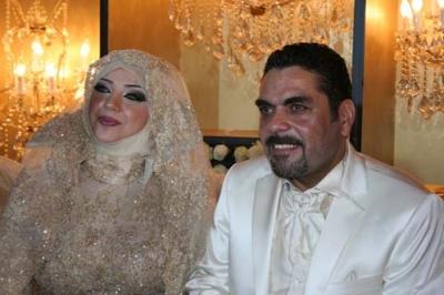 بالصور..الأسير المحرر سمير القنطار وزينب برجاوي يحتفلان بزفافهما