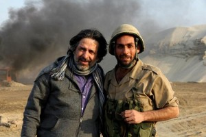 هادي ماهود ينتهي من تصوير (العربانة)