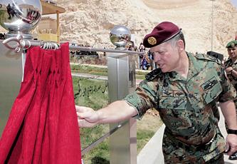 الملك يفتتح مركزاً اقليمياً تدريبياً للعمليات الخاصة ومكافحة الارهاب