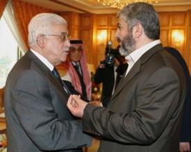 عباس التقى مشعل سرا في عمّان