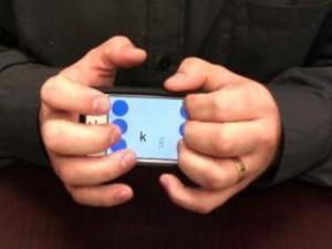تطبيق على الأجهزة اللوحية يسهل الكتابة للمكفوفين