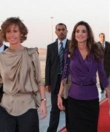 بعد اتصال الملكه رانيا .. أسماء الاسد قلقة على أوضاع الاردنيين