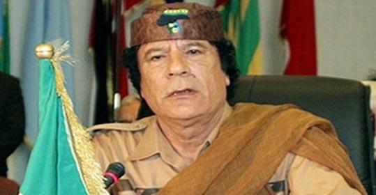 القذافي ` المعتدل ` يدعو مجدداً لـ`إسراطين` ويلوح بتأميم النفط