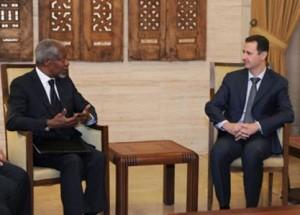 الأسد مهددا أنان : السعودية والأردن في مرمى صواريخي ولن أرحمهم
