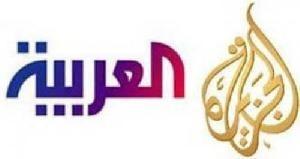 ملاسنة وخلافات بين مراسلي الجزيرة والعربية .. فيديو