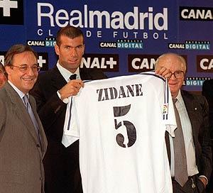 زيدان سيعود إلى ريال مدريد إذا أصبح بيريز رئيسا