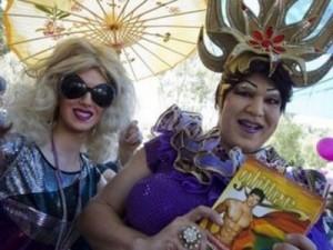عشرات الالاف يحتفلون بإسرائيل بمهرجان المثليين