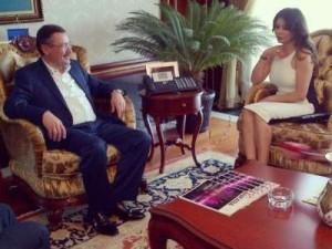 رئيس بلدية أنقرة يعرض الجنسية التركية على هيفاء وهبي