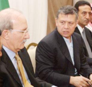 الملك يؤكد خلال لقائه 20 شخصية أردنية أن حل الدولتين يجب العمل عليه في المرحلة المقبلة