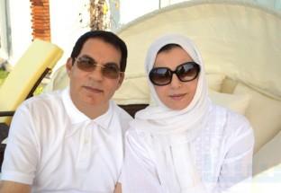 أول صورة لزين العابدين بن علي وزوجته بعد هروبهما من تونس