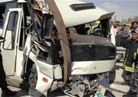 وفاة و7 اصابات اثر حادث تصادم في الكرك