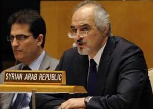 الجعفري يتطاول على المغرب..وفرنسا ترد:جدّ رئيسكم الأسد طالبنا عدم منح سوريا الاستقلال