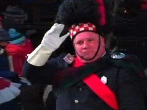 استقالة عازف عسكري لوح لأوباما في حفل التنصيب