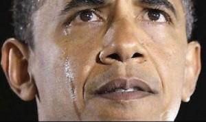 بالصور والفيديو .. الكاميرا تلتقط دموع أوباما