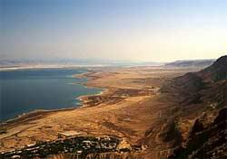 اكتشاف ميناء روماني على الشواطئ البحر الميت