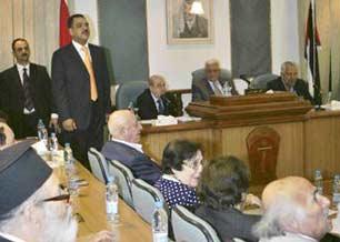 أعضاء في المجلس الوطني الفلسطيني يعقدون اجتماعا في عمّان لبحث أوضاع غزة