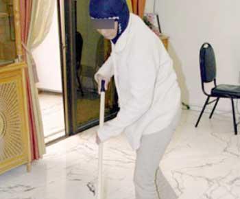 """""""هيومن رايتس"""" تطلب من وزارة العمل تعديل قانون العاملين في المنازل"""