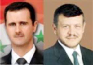 قمة أردنية سورية في دمشق