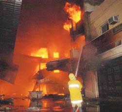 وفاة 3 اطفال في حريق بأحد المنازل بالزرقاء