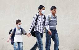 """إصابة خامسة بانفلونزا الخنازير في مدارس """"الأونروا"""" بمخيم البقعة"""