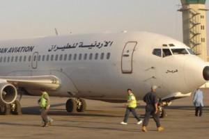 طائرة اردنية تثير الرعب والذعر في قلوب ركابها ... فمن يحاسب المقصرين...!!!!