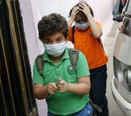 اصابة طالب بانفلونزا الخنازير بمدرسة في بلدة النعيمة