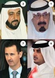قائمة بأرصدة أغنى الحكام العرب!