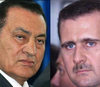 تقرير إسرائيلي: مبارك جيد لتل أبيب ، والأسد في نظر شعبه قائد طيب.. لكنه بالنسبة لنا خطر