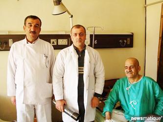 استخراج 52 ولاعة من معدة مواطن عراقي في كركوك