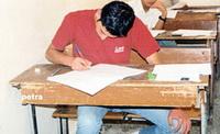 شباب يهاجمون قاعات امتحان الثانوية في السلط