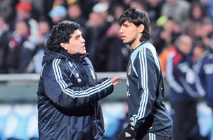 بنجامين أول حفيد للنجم الأرجنتيني مارادونا